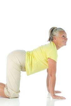 Free Yoga Lady Royalty Free Stock Photo - 6662325