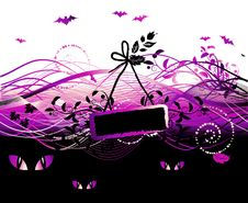 Free Halloween Night Background Stock Photos - 6662703
