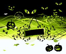 Free Halloween Night Background Royalty Free Stock Photos - 6662708