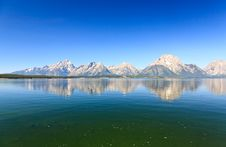 Free The Jackson Lake In Grand Teton Stock Images - 6663214