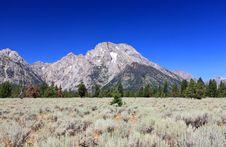 Free The Grand Teton National Park Stock Photo - 6663240