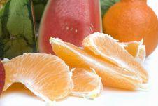 Free Orange Slices Stock Photo - 6663800