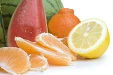 Free Orange Slices Stock Photos - 6663803