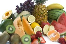 Free A Heap Of Cut Tropical Fruits Royalty Free Stock Photography - 6663807