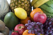 Free A Heap Of Cut Tropical Fruits Royalty Free Stock Photos - 6663858