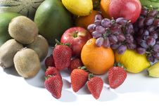Free A Heap Of Cut Tropical Fruits Stock Image - 6663861
