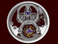 Free Clockwork Stock Photography - 6663992