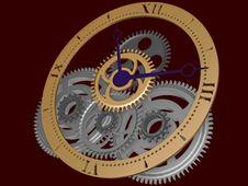 Free Clockwork Royalty Free Stock Image - 6664016