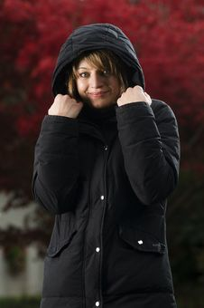 Free Warm Girl Stock Image - 6664221