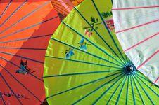 Free Parasols Stock Image - 6664351