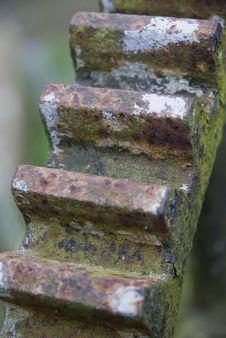 Rusty Cogwheel Stock Photography