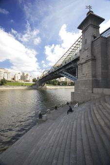 Free Bridge Over The River Royalty Free Stock Photo - 6665215