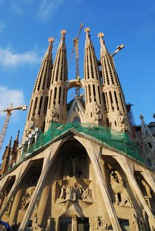 Free Sagrada Familia, Barcelona Royalty Free Stock Photography - 6665217