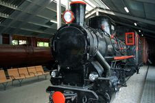 Free Black Steam Locomotive Stock Photos - 6665283