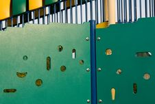 Playground Equipment Background Royalty Free Stock Image