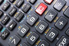 Free Calculator Keypad Stock Images - 6665644
