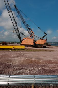 Free Dockside Cranes Stock Photos - 6665883