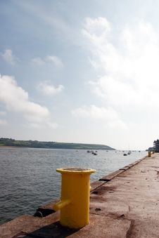 Free Youghal Quay Bollards Royalty Free Stock Photos - 6666218