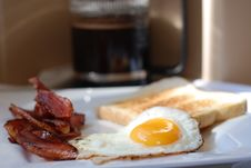 Free Breakfast Food In The Morning Sunlight Royalty Free Stock Photos - 6666488