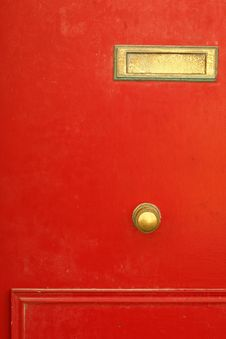 Free Red Door Royalty Free Stock Images - 6666789