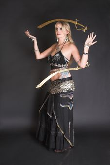 Free Belly Dancer Stock Images - 6666914