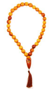 Free Yellow Beads Royalty Free Stock Image - 6667476