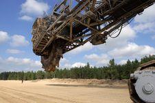 Coal Digger Stock Image