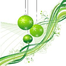 Free Christmas Background, Vector Illustration Stock Images - 6668064