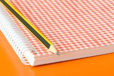 Free Notebook And Pencil Stock Images - 6668154