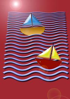Free Boats 3 Royalty Free Stock Photo - 6669015