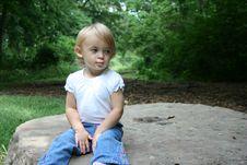 Free Annoyed Child Royalty Free Stock Photo - 6669445