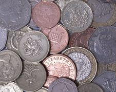 British Coins Stock Images