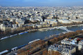 Free Paris Bird S Eye View Stock Photography - 6671762