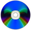 Free Compact Disk Isolated On White Stock Image - 6678631