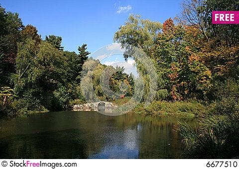 Free Landscape With Bridge Stock Photo - 6677510