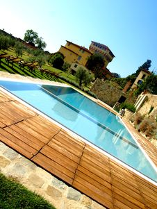 Free Countryside Pool Royalty Free Stock Photo - 6670695
