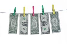 Free Laundering Money Stock Photography - 6671562