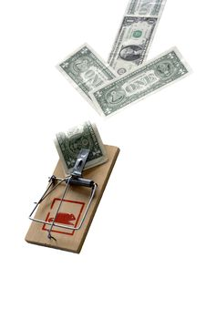 Free Direction To Money Trap Royalty Free Stock Photo - 6671575