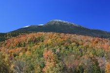 Mount Washington In Fall Royalty Free Stock Images