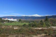 Mount Washington In Fall Royalty Free Stock Photos