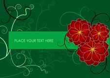 Free Floral Frame Royalty Free Stock Photos - 6672508