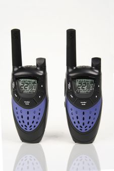 Free Walkie-Talkies Royalty Free Stock Photo - 6672535