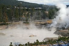 Free Acidic Lake In Yellowstone Stock Photos - 6673033