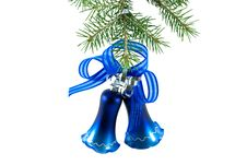 Free Christmas Bell On Fir-tree Stock Photography - 6673352