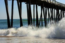 Free Rodanthe Pier Stock Image - 6673431