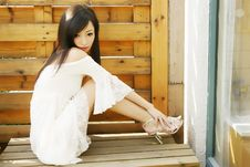 Free Young Woman Portrait Royalty Free Stock Photos - 6673638