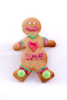 Free Gingerbread Man Cookie Stock Photos - 6673733