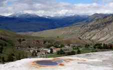 Free Mammoth Hot Spring Stock Images - 6673814