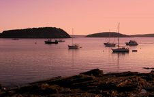 Free Bar Harbor Sunrise Stock Image - 6673821