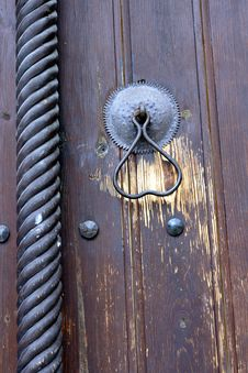 Free Church Door Detail Stock Image - 6673931